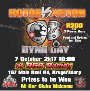 Rotor Vs Piston Dyno Day @ RCB Racing | Johannesburg | Gauteng | South Africa