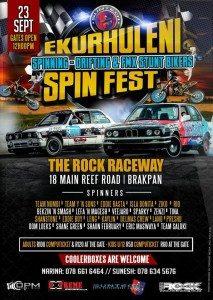 Ekurhuleni Spin Fest – The Rock Raceway @ The Rock Raceway  | Brakpan | Gauteng | South Africa
